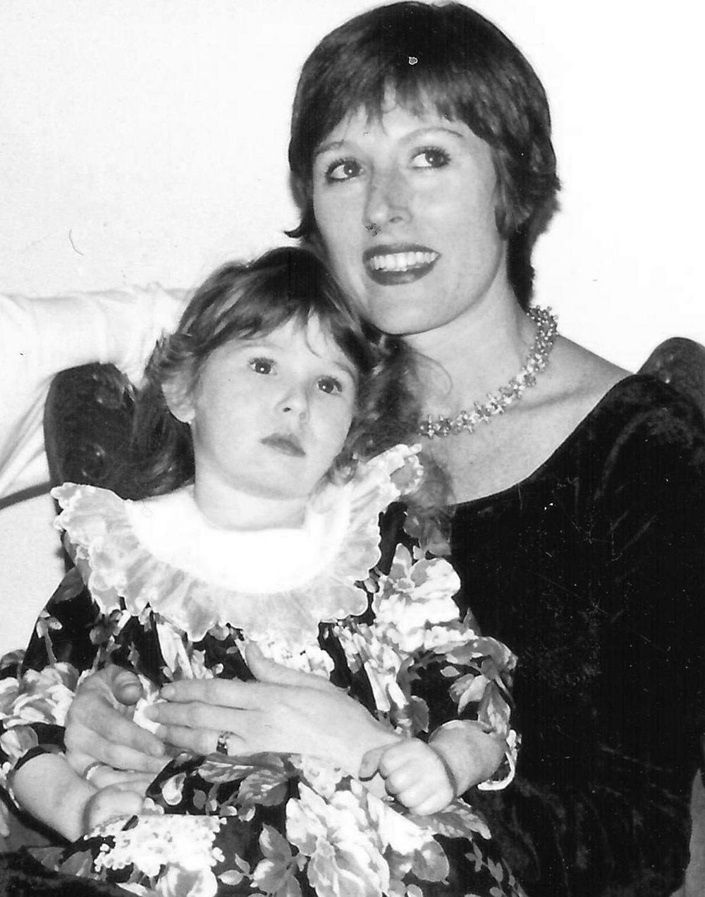 Debra and her daughter Paris, just a few years after the first Paris Parker opened. | Source: Debra Neill Baker