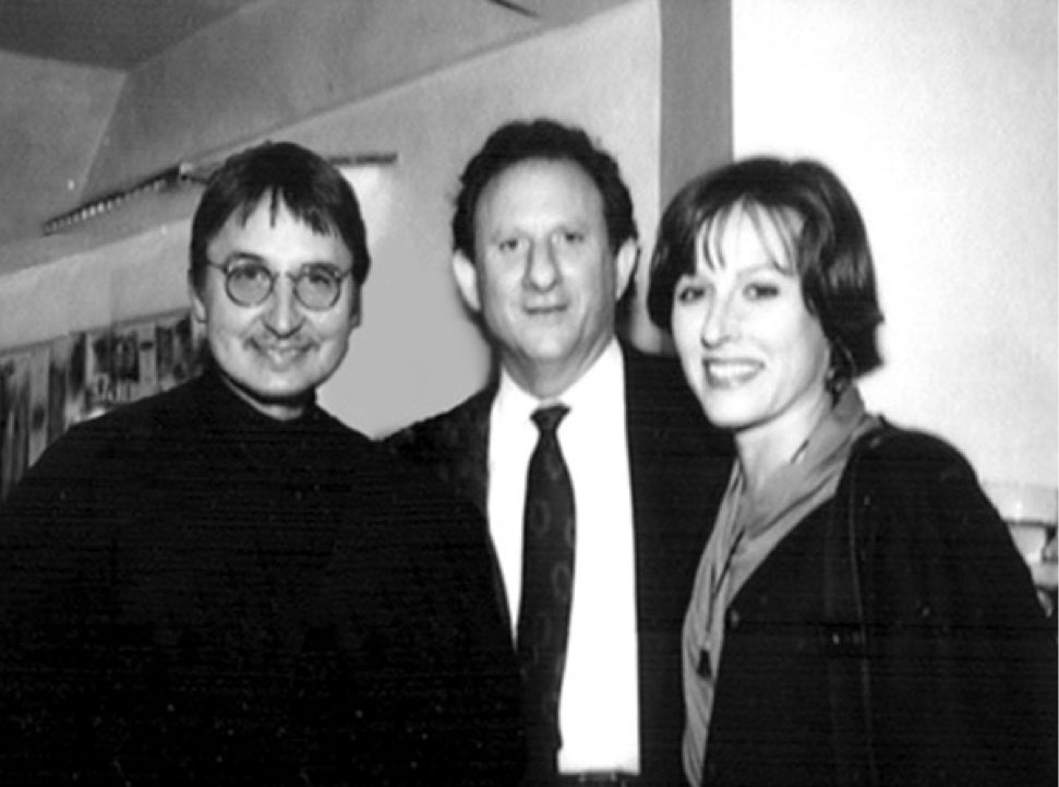 Horst, Edwin and Debra in New York, 1988, at the opening of the first Aveda lifestyle store. | Source: Debra Neill Baker